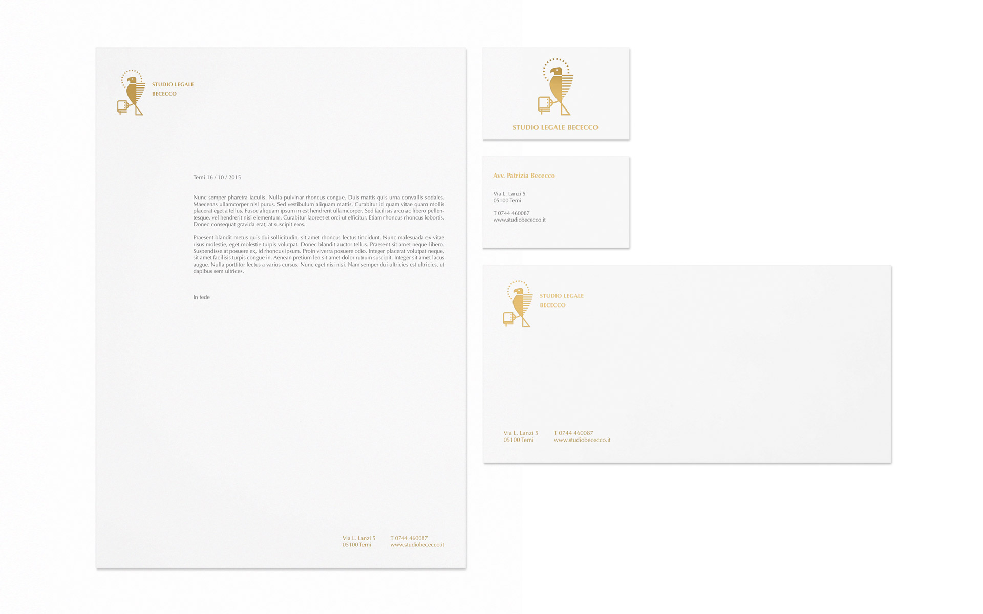 Studio Bececco stationery design