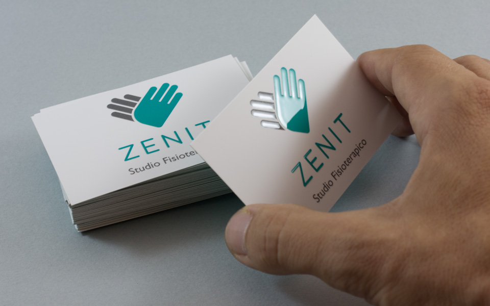 Zenit identity business card