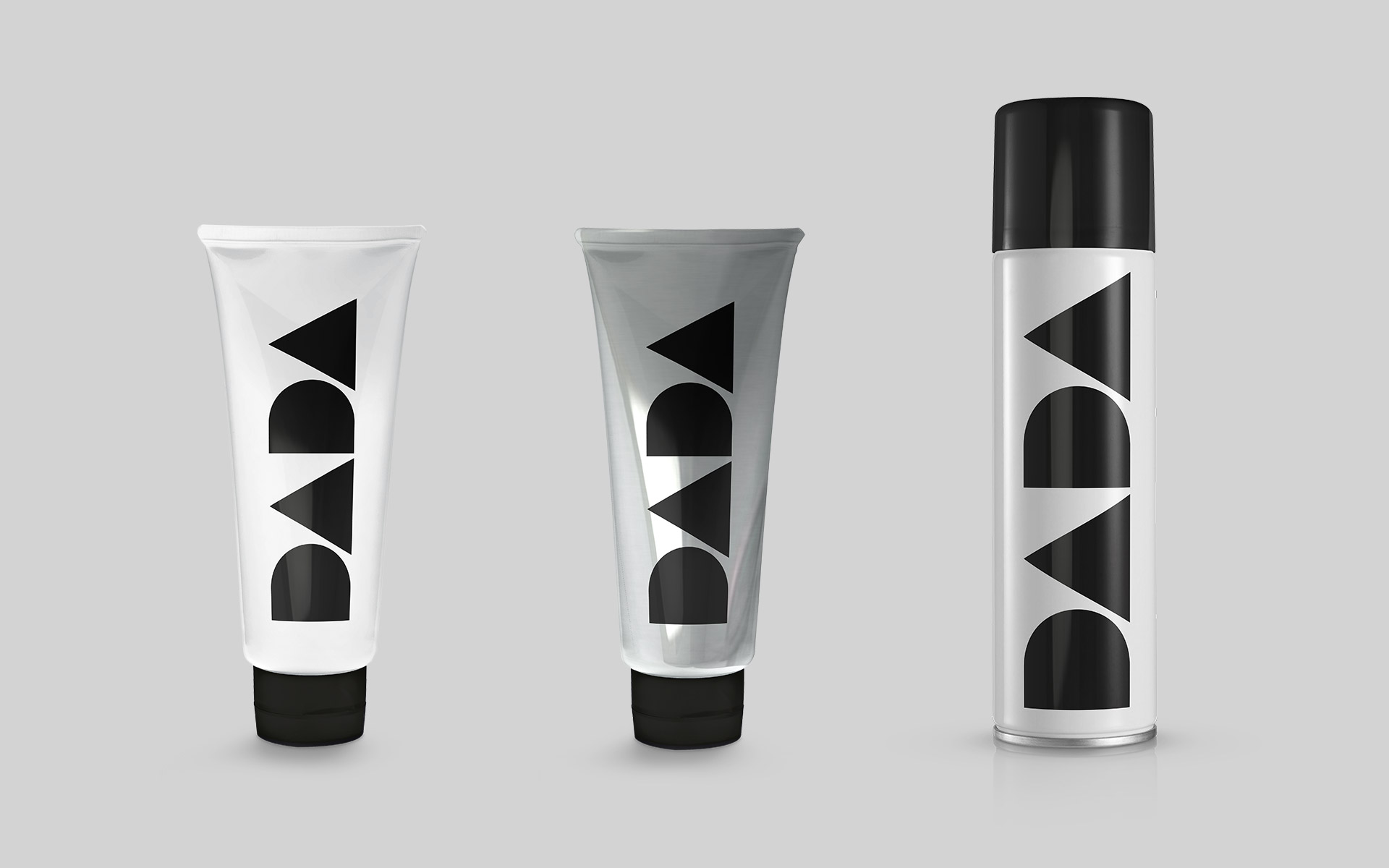Dada Brand Identity packaging