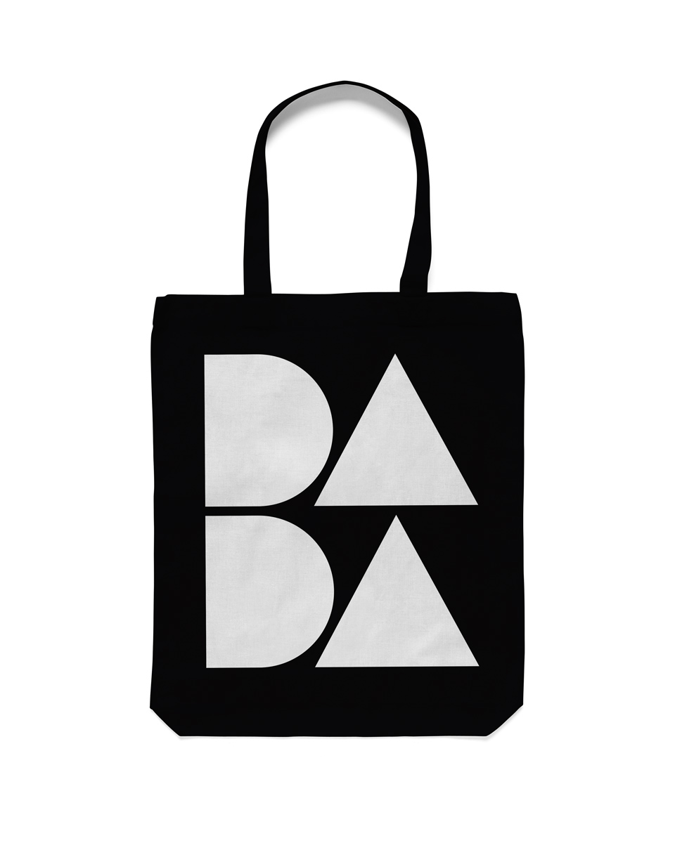 Tote bag design Dada