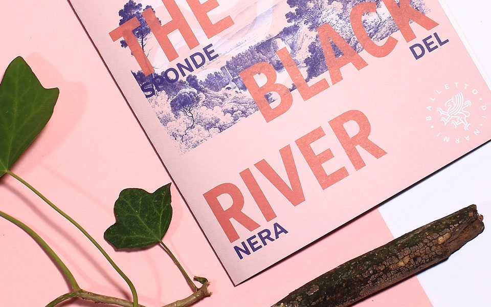 progettazione brand identity festival Arts On The Black River