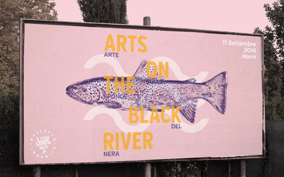 campagna di comunicazione festival culturale Art On The Black River