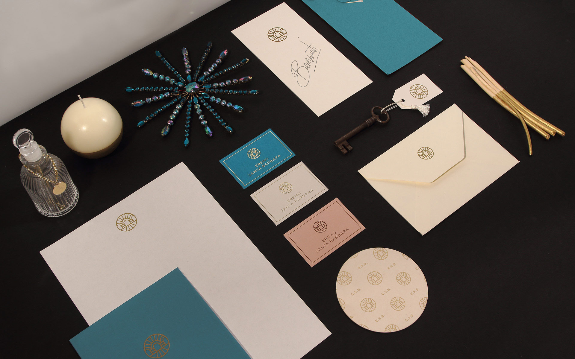 Eremo Santa Barbara Stationery