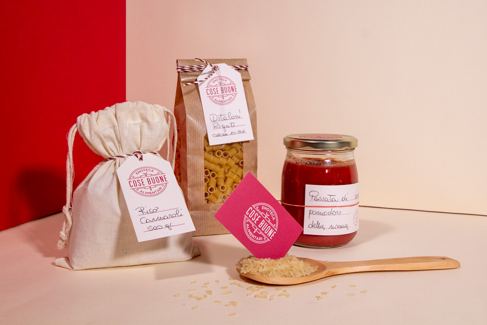 Cose buone packaging design
